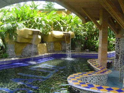 Baldi Hot Springs, Arenal, Costa Rica