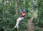canopy tour, costa rica